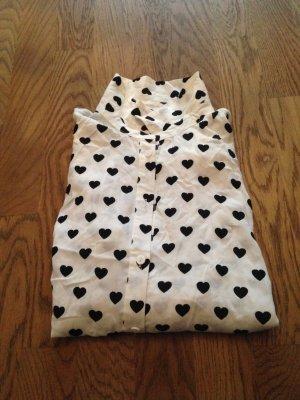 Bluse mit Herzchen H&M