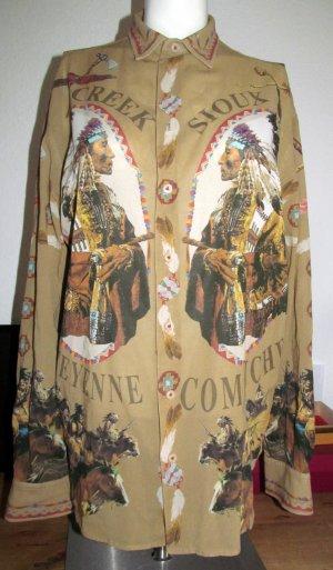 Bluse mit Indianerdruck von D&G