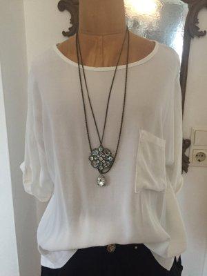 Slip-over blouse wit Viscose