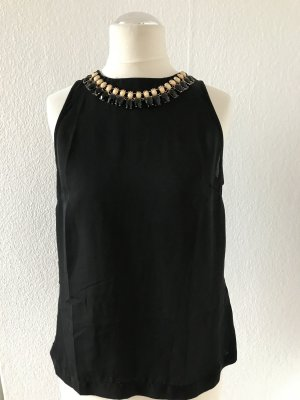 bluse mit kette glamourous