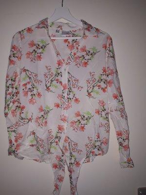 Bluse mit Knotendetail 42