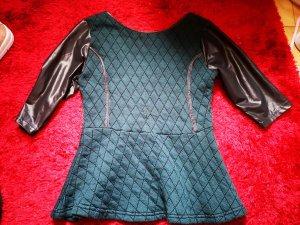 b.p.c. Bonprix Collection Camicetta a blusa nero-ocra