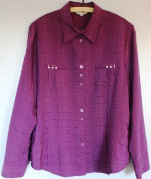 Blusa violeta amarronado Viscosa
