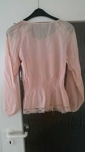 Bluse mit leichter Spitze zu verkaufen