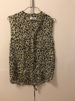 Bluse mit Leo Muster