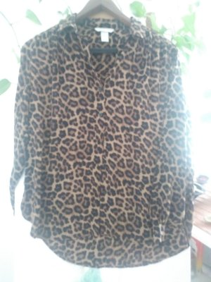 Bluse mit Leoparden Print