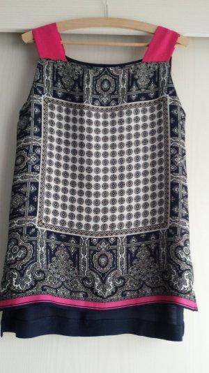 Bluse mit Muster von Mango Gr M