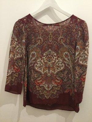 Bluse mit orientalischem Muster
