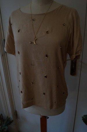 Bluse mit Pailetten von Sandwich Gr.40