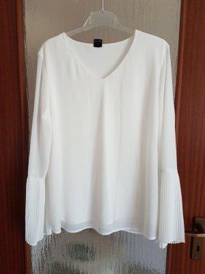 Bluse mit plisierten Ärmeln von S.Oliver Black Label