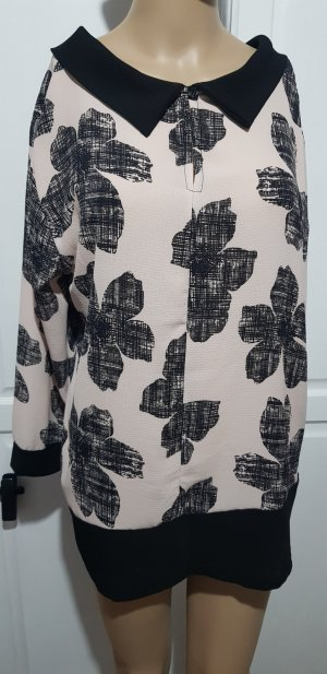 bluse mit print muster