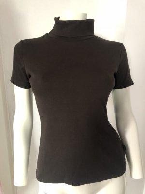 Colletto camicia marrone-nero