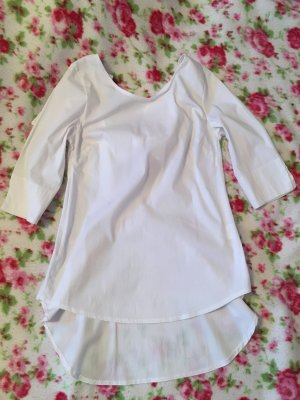 SusyMix Glanzende blouse wit
