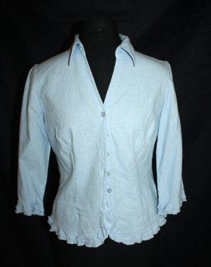 Biaggini Linnen blouse veelkleurig Gemengd weefsel