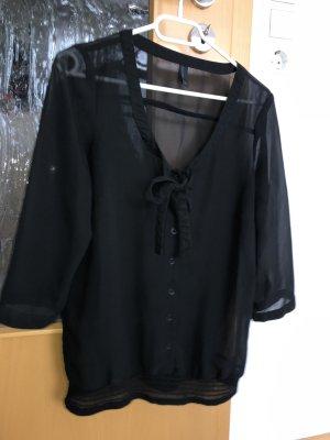 Vero Moda Blouse transparente noir