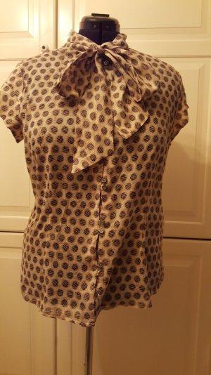 Bluse mit Schleife aus leichter Baumwolle