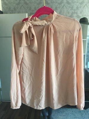 Bluse mit Schleife