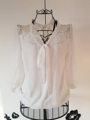 Bluse mit Schleife- Größe 40