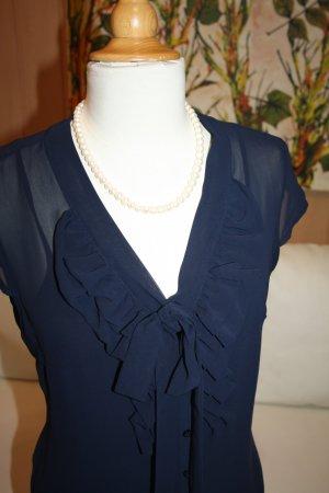 Bluse mit Schluppe, Gr. 38 zu Business-Outfits