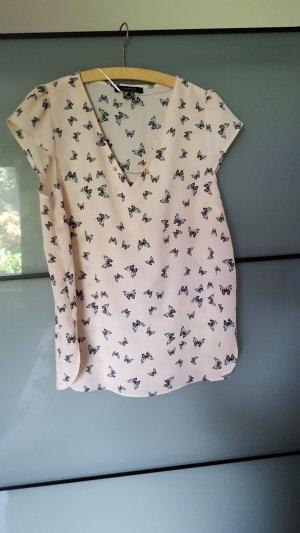 Bluse mit Schmetterlinge