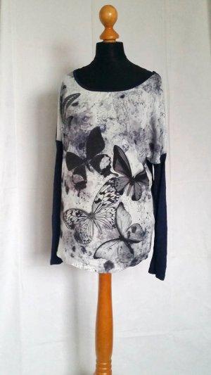 Bluse mit Schmetterlingsprint von Orsay NEU