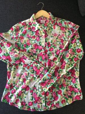 Bluse mit schönem Blumenmotiv