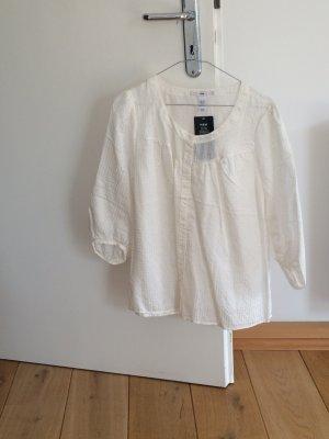 Bluse mit Seidenanteil von H&M