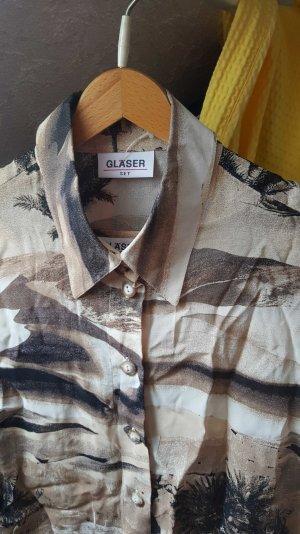 Bluse mit Shirt von Gläser.
