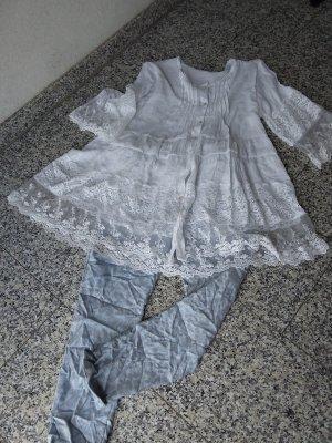 Made in Italy Abito a tunica bianco
