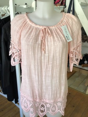 Crash Blouse pink viscose