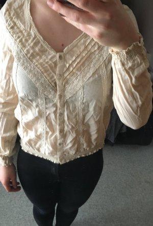 Bluse mit Spitze von H&M