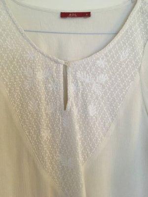Bluse mit Stickerei Größe S