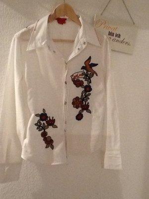 Bluse mit Stickerei von CASTRO in Gr. 40