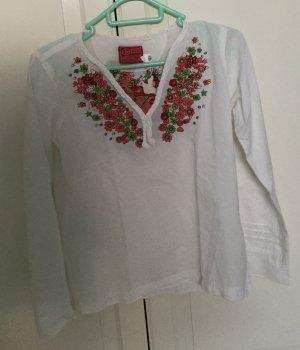 Bluse mit Stickerei von Chiemsee/plusminus