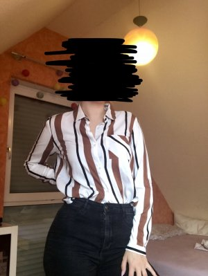Bluse mit Streifen