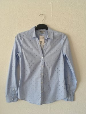 H&M Stand-Up Collar Blouse multicolored