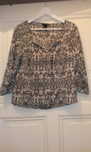 Bluse mit tollem Muster von H&M