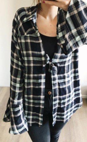 Somedays Lovin Kimono blouse veelkleurig Gemengd weefsel