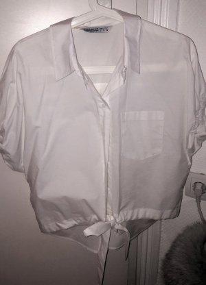 Zara Camicetta a blusa bianco