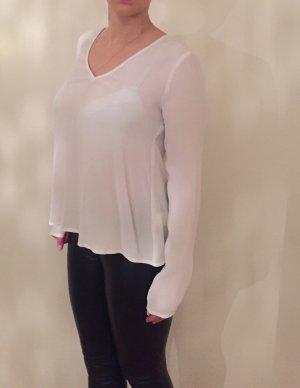 Bluse mit v-Ausschnitt und a-Linie