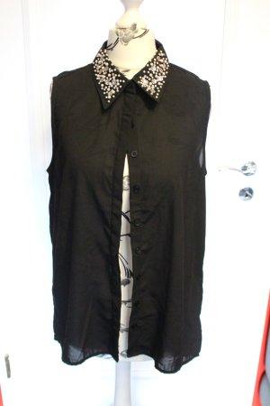 Bluse mit verziertem Kragen von Amisu