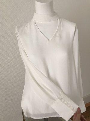 Bluse mit Vförmigem cutout-Ausschnitt