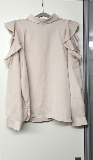 H&M Ruffled Blouse pink