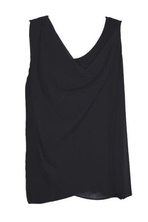 Bluse mit Wasserfallausschnitt von **Calvin Klein**