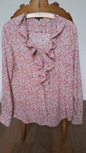 More & More Ruche blouse veelkleurig Katoen