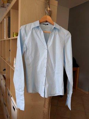 Bluse More & More mit großen Manschetten Gr. S