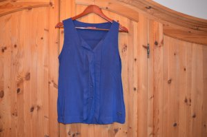 Bluse nachtblau, ärmellos von edc