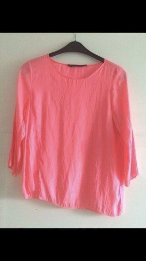 Bluse neonpink  Zara