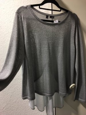 Bodyflirt Dickey (for blouse) silver-colored