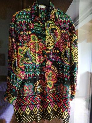 Elégance Paris Camicetta lunga multicolore